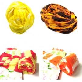 Капрон двухцветный, желтые тона