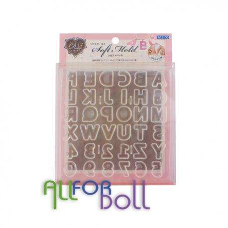 Soft Mold Alphabet