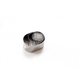 Вырубка ОВАЛ металл (3 части)
