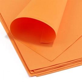 Фом эва, оранжевый, 0,5мм, 10 шт.