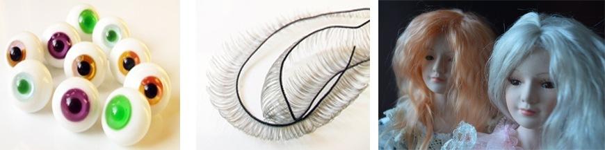 Глазки, волосы, реснички