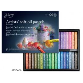Пастель MUNGYO масляная мягкая профессиональная 48 цветов