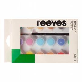 Набор акварельных красок Reeves в тюбиках по 10 мл, 12 цветов