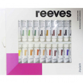 Набор гуаши Reeves 10мл 24 цвета