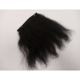 Тресс натуральный из волос ангорской козы (пепельный блонд).