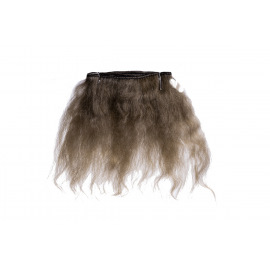 Тресс натуральный из волос ангорской козы (каштановый).