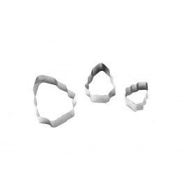 Вырубка ЕЛОЧКА металл (3 части)
