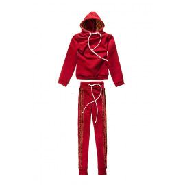 Спортивный костюм красный