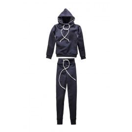 Спортивный костюм синий для BJD