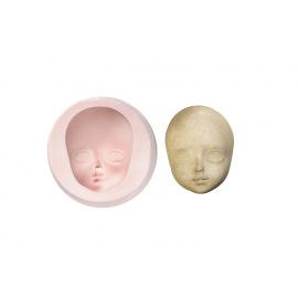 Молд лица женщины