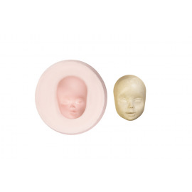 Молд лица куклы М