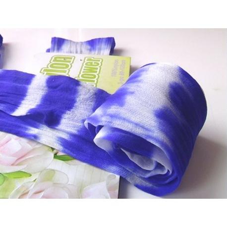 Капрон двухцветный, синие тона