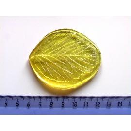0020 Молд лист Клубники (L)