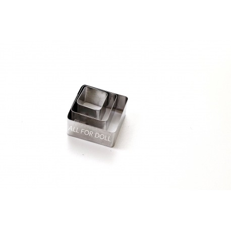 Вырубка КВАДРАТ металл (3 части)