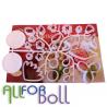 Набор пластиковых вырубок для изготовления цветов