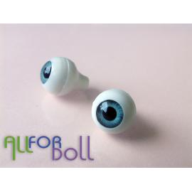 Глазки для кукол, бирюзовые (сфера)