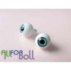 Глазки для кукол, зеленые (сфера)