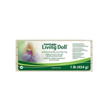 """Super Sculpey Living Doll """"Light"""" (светло-бежевый)"""