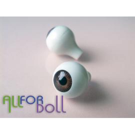Глазки для кукол, карие (сфера)