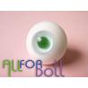 Глаза для кукол стеклянные (сфера), светло-голубые