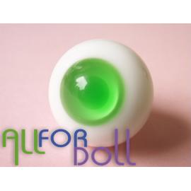 Глаза для кукол стеклянные (сфера), зеленые