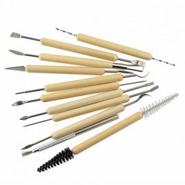 Инструменты для лепки, 11шт