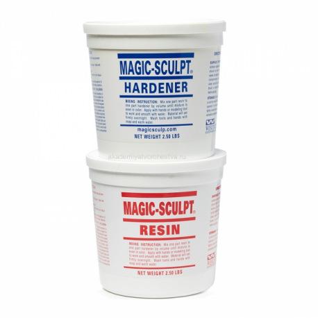 Magic Sculpt масса для моделирования цвет серый 2270 гр.