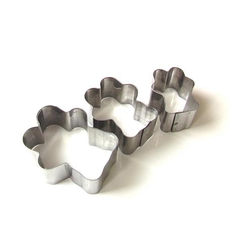 Вырубка МИШКА металл (3 части)