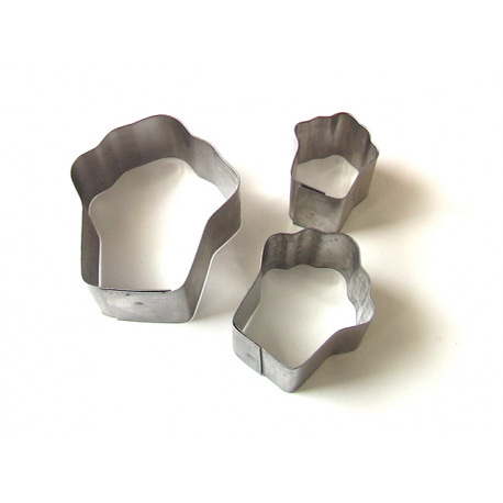 Вырубка ТОРТИК металл (3 части)