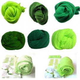 Капрон, зеленые оттенки.